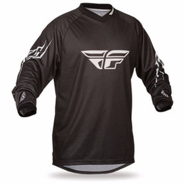 Wholesale Flying Bike - 2018 Cycling Mountain Bike Downhill DH MX RBX cycling Running Clothing Off-road FLY Motocross Jersey for Men Long Sleeve Cycling 008