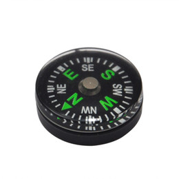 Wholesale survival compass kit - 20mm Compass Easy Carry For Camping Hiking Climbing Survival Kit Accessories Mini Gadgets Put Into Pouch Equipment Useful 0 45dj ZZ