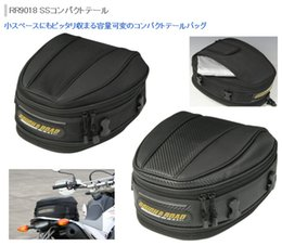 Wholesale Motorcycle Rear Seats - Free shipping New arrival rr9018 rough road motorcycle rear seat package hangback bag 4wd after the bags rain cover cycling bags