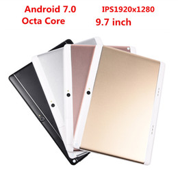 9,7 tavolette 4 g di octa nucleo Sconti DHL Free 9,7 pollici 3G 4GLTE Tablet Tablet Pc Octa Core IPS 1920x1280 pc Tablet WiFi 4G + 64G 7 8 9 10 tablet pc Android