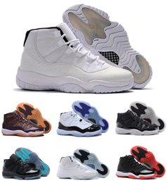 Wholesale good jams - With Box good Quality 11 Ovo Space Jam Bred Concord Basketball Shoes Men Women shoes 11s Gym Red Navy Gamma Blue 72-10 Sneakers