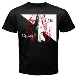 Фильм в натуральную величину онлайн-Учиха смерть жизнь Наруто Саске фильм манга аниме Япония футболка черный лето с коротким рукавом рубашки топы S~3Xl большой размер хлопок тройники бесплатно