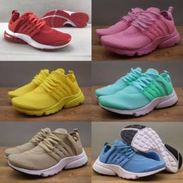 Wholesale Breathe Lighting - 2018 TOP Air PRESTO BR QS Breathe Black White Women Basketball Shoes Sneakers Women Running Shoes Hot Sports Shoe,Walking designer shoes