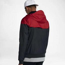 Wholesale Black Long Coat Men Styles - 2018 New arrival big letter print style fashion monolayer sport coats male windcheater jackets windbreaker hooded movement male thin coat251