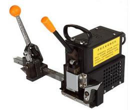 Портативный горячего расплава ленты ПП стреппинг машина маленькая модель полу autiomatic бесплатно пряжка стреппинг машина для ленты ПП от