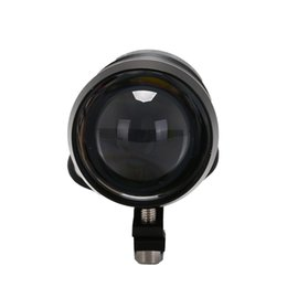Luces de niebla intermitentes online-Nuevo LED Conducción Moto Faros antiniebla Lámpara de destello Bombillas del faro de Moto U2 Alto Alto haz bajo Motocicleta Faro