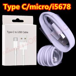 2019 защитный экран молния кабель Тип c Micro Usb кабель Белый толще фольга щит Usb данных зарядное устройство провод для samsung s7 edge s8 s9 htc lg с коробкой 1 м 3 фута скидка защитный экран
