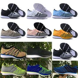 Argentina Los más nuevos hombres de alta calidad de aire FLYNIT 5.0 RACER zapatos casuales descalzo Free Run zapatos casuales tamaño 40-45 Suministro