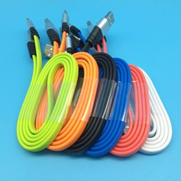 Wholesale I5 C - cellphone mobilephone 2a high transmission speed charging tpe aluminum usb data wire lines cables universal for i5 6 7 8 galaxy v8 colorful