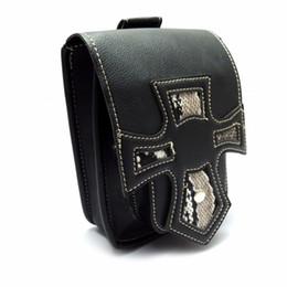 Смешные пакеты онлайн-Motorcycle Waist Bag Side Bag Tool PU Leather Man Waist Belt Funny Drop Belt Pouch Fanny Pack Packs