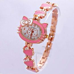 женва смотреть женщины розовые Скидка 2018 Новые модные женские часы Симпатичные розовые мультфильмы Cat Watches Женские женские женские кварцевые браслеты Женевские женские часы