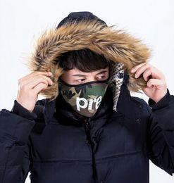 2019 masque pour hommes de l'armée 3 couleurs hommes femmes facemask marée marque couple cyclisme sports de plein air visage masque haute qualité avec étiquette originale rouge noir armée vert masque pour hommes de l'armée pas cher