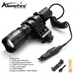 Wholesale outdoor waterproof lanterns - AloneFire Tactical TK400 L2 LED Flashlight Waterproof Outdoor Torch Light Cycling Bike Lights Portable Lantern Camping Hunting for 1x18650 b