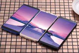 Double carte sim 5,7 pouces en Ligne-Téléphone mobile personnalisé S8, 5,8 pouces plein écran Netcom 5,8 pouces plein écran, 4G double carte 32G veille