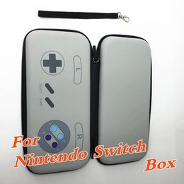 Wholesale Hard Carry Case Cover Bag - Newest 7 Color Hard Travel Protective Storage Pouch Bag For Nintendo Switch NS NX Console Cover Case Game Accessories box