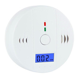 Wholesale Surveillance For Home - CO Carbon Monoxide Gas Sensor Monitor Alarm Poisining Detector Tester For Home Security Surveillance Hight Quality