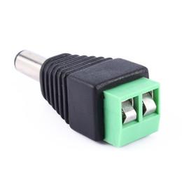 Connecteurs d'alimentation de vidéosurveillance en Ligne-2.1 x 5.5mm DC Power Plug Jack Adaptateur Adaptador Connector Plug pour CCTV LED Light