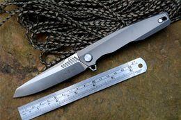 2019 coltello twosun TwoSun Novità TS88 Coltello Pieghevole Lama M390 Lama in titanio Coltello Caccia Sopravvivenza coltelli per la raccolta regalo spedizione gratuita