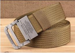 Canada Ceinture en nylon hommes armée tactique ceintures homme militaire taille toile mâle haute qualité équipement sangle ceinture homme Offre