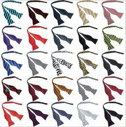 Wholesale Self Tie - male formal bow tie multicolor fashionable casual bow tie self tie