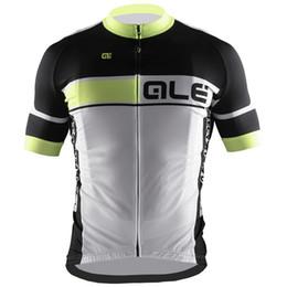 Wholesale Top Team Cycling Jersey - 2018 cycling clothing ALE team Cycling Short Sleeves jersey maillot ciclismo bicicleta carretera bike wear quick dry C1012