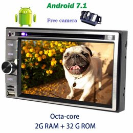 Wholesale Pc Digital Camera - Backup camera+6.2'' headunit Car Radio Stereo Octa-core Android 7.1 GPS Navigation Car dvd pc system main unit OBD2,DAB+,Digital TV