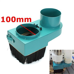 Wholesale Machine Spindles - 100mm Spindle dust cover CNC Rounter Vacuum Cleaner Dust protection for CNC woodworking engraving machine Dustproof removal