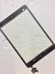 Canada Réparation de haute qualité Assemblée Pour iPad mini 1/2 Écran Tactile Digitaliseur Écran Avec IC Bouton À La Maison Flex Câble Écran Tactile Digitizer Remplacement Offre