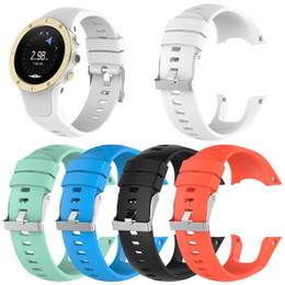 Argentina Correa de reloj de repuesto para la correa de reloj de silicona con herramientas Suunto Spartan Trainer Wrist HR. Suministro