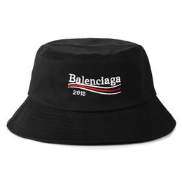 markenhüte für großhandel Rabatt 2018 Großhandels-Sommer SunBucket Hut-Schutz-Fischen-Marke Bob Boonie Bucket Hats Sommer kappt 2 Farbe