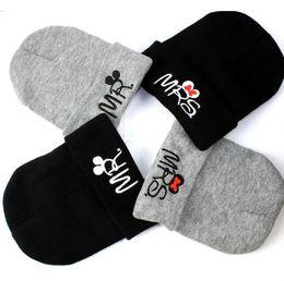 2018 nuovo cappello di lana bambino MRS lettera cap testa autunno e inverno  protezione orecchio caldo berretto di lana a maglia calda c0186d5a7507