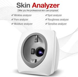 ce technologie Promotion Nouvel analyseur intelligent de peau / machine d'analyse faciale de miroir magique Technologies de scanner d'images numérique Camera1 / 1.7''CCD pour la maison ou le salon de beauté