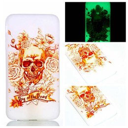 tower pro Promo Codes - Luminous Soft TPU Case For Huawei P20 Pro Lite Galaxy J3 J4 J6 J7 A6 Plus 2018 Skull Eiffel Tower Donut Lover Glow In Dark Cartoon Cover