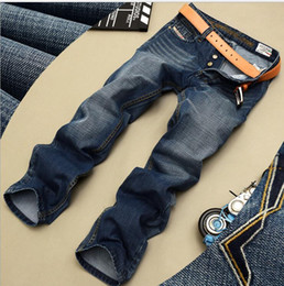 Wholesale America Mid - Hot! Spring and autumn New Men's jeans Europe America style Slim Retro Straight Explosions Leisure fashion Jeans men