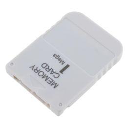 Wholesale SCPH M Tarjeta de memoria GRIS Mega para Playstation One PS1 PSX Game PXONE
