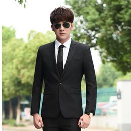 (Giacche + pantaloni) Vestito da uomo d affari da lavoro di design nuovo  Vestito da cerimonia nuziale in costume da sposo di colore solido e4077c7ea0d