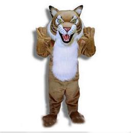 2018 nuevo animal cubs tigre traje de la mascota tamaño adulto personaje de dibujos animados traje de fiesta de carnaval traje de disfraces envío gratis adulto desde fabricantes