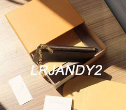 klassische taschen Rabatt mit orange Box SCHLÜSSELBEUTEL Echtleder hält 100% Leder berühmte klassische Designer Frauen Schlüsselanhänger Münze Geldbeutel kleine Lederwaren Tasche