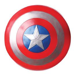 The Avengers Captain 32cm Captain America Assemble Shield Cosplay Toy Figura de acción roja desde fabricantes
