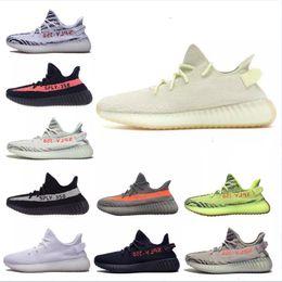best deals on 3dbf9 ea536 Adidas Yeezy 350 shoes senaker 2018 crema de sésamo hielo amarillo 36-48 350  v2 zapatos de diseñador azul tinte 350 V2 Sply negro rojo BY9612 350  hombres ...