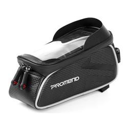 selles d'équitation Promotion PROMEND vélo sac de selle imperméable à l'eau écran tactile téléphone mobile