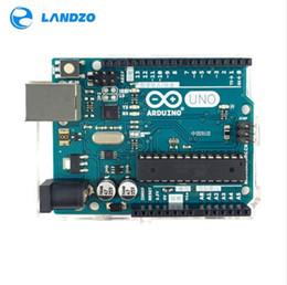 Wholesale Arduino Board Usb - Arduino UNO R3 MEGA328P ATMEGA16U2 high quality (NO USB CABLE) with silk screen For ARDUINO Starter Kit