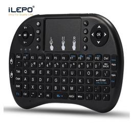 Jogos grátis android on-line-Teclado Sem Fio 2.4G Teclados Sem Fio RII I8 Mini Teclado e Mouse para livre caixa de tv android X96 mini caixa do jogo xbox