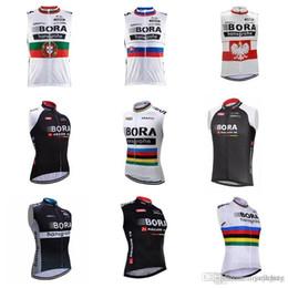 zyklus gegenstände Rabatt 2018 neue Artikel BORA Team Radfahren ärmellose Jersey-Weste Atmungsaktive und schnell trocknende Bike Vest c2007