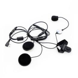 Écouteur de casque de moto demi visage pour Kenwood deux voies radio BaoFeng UV-5R UV-82 GT-3 TG-UV2 PX-777 TH-UV3R ? partir de fabricateur