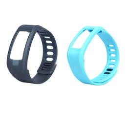 bande di ricambio garmin vivofit Sconti MAHA Grigio / blu Sostituzione TPU Wrist Band per Garmin vivofit Bracciale Braccialetto intelligente applicato