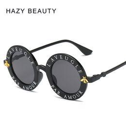 Уникальные солнцезащитные очки мужчин онлайн-L'aveugle Par Amour круглые солнцезащитные очки женщин отличительные мода солнцезащитные очки мужчины уникальный бренд дизайнер ретро солнцезащитные очки uv400