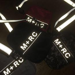 2019 m teléfono móvil Nuevo M + RC NOIR RR Cross Body Bags 3M Reflective Bolsa de hombro Bolsa de almacenamiento Bolsas al aire libre Men Canvas Bolsas de teléfono móvil Messenger Bags m teléfono móvil baratos