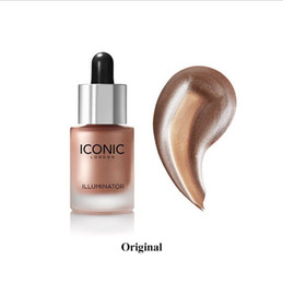 Wholesale Shining Full - 2018 New Iconic London Illuminator Liquid Highlighter In Shine Original Shine Glow Three Color Face Make up Highlighter 13.5ML Free shipping