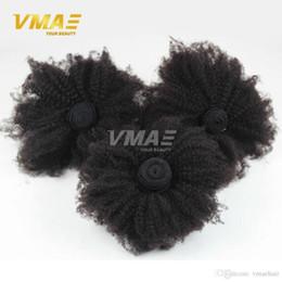 8A Moğol Sapıkça Kıvırcık Bakire Saç Afro Kinky Kıvırcık Saç 3 Demetleri 4B 4C Kıvırcık Örgü İnsan Saç Uzantıları Siyah Kadınlar nereden siyah kadınlar saç uzantıları tedarikçiler
